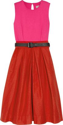 Preen Line Azure stretch cotton-drill dress