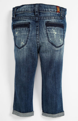 7 For All Mankind Skinny Leg Crop Jeans (Baby)