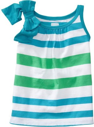 Old Navy Bow-Tie Shoulder Tanks for Baby