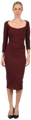 DSquared DSQUARED2 - S72CT0856S22204211 Dress (Bordeaux) - Apparel