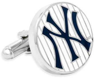 New York Yankees MLB Pinstripes Cufflinks