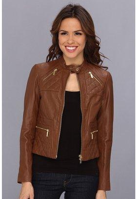 MICHAEL Michael Kors 4 Pocket Racer Jacket Women's Coat