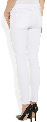 Frame Denim Le Colour mid-rise skinny jeans