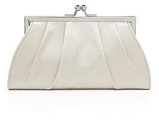 Kate Landry Social Large Pleated Frame Clutch