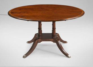 Ethan Allen Hansen Pedestal Dining Table