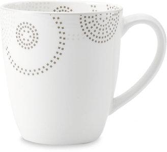 Mikasa Sparkle Circles Collection Mug