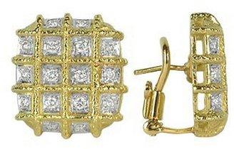 Torrini Wallstreet - 18K Yellow Gold Diamond Earrings