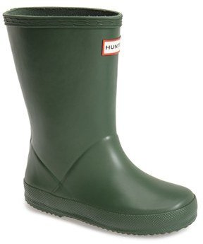 Toddler Hunter 'First Classic' Rain Boot $55 thestylecure.com