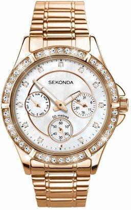 Sekonda Editions Ladies' Multidial Bracelet Watch