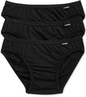 Jockey Men's Underwear, Elance Bikini 3-Pack