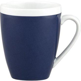Crate & Barrel Navy Mug
