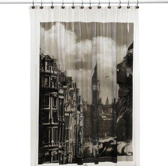 Bed Bath & Beyond London Shower Curtain