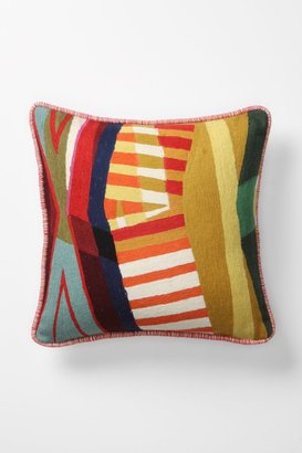Anthropologie Colorfield Collage Pillow, Square