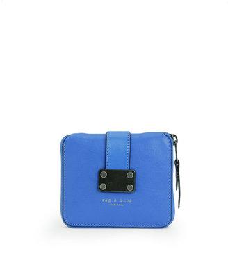 Rag and Bone Zip Around Wallet - Blue