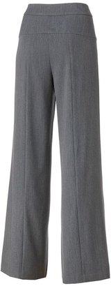 JLO by Jennifer Lopez solid wide-leg pants - women's