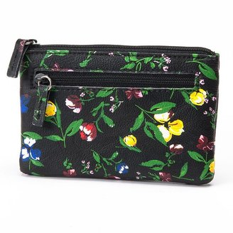 Apt. 9 floral coin pouch