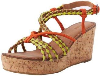Nicole Women's Across Wedge Sandal