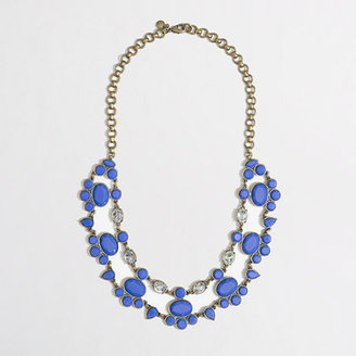 J.Crew Factory Factory stone and crystal collar necklace