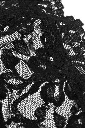 Hanky Panky Signature Stretch-lace Soft-cup Bra - Black