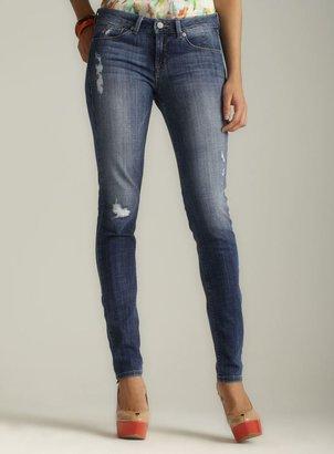 Fragile Super Skinny Distressed Denim Jeans