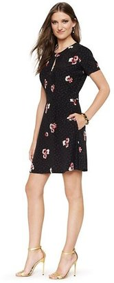Juicy Couture Silk Daisy Print Dress