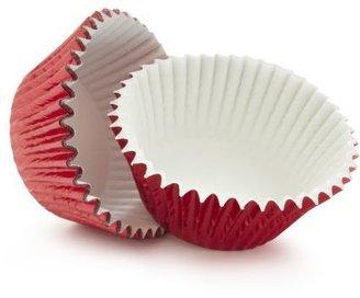 Sur La Table Red Foil Bake Standard Cups, Set of 32