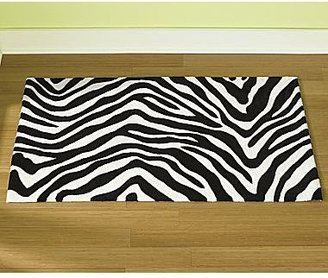 JCPenney Zebra Rectangular Rug