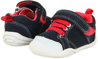 pediped Jett Grip 'n' Go (Infant/Toddler) (Navy/Red) - Footwear