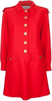Yves Saint Laurent Vintage military dress