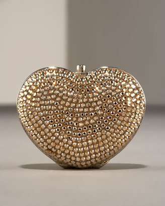 Judith Leiber Heart Pillbox