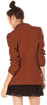 Porter Grey Wool Blazer