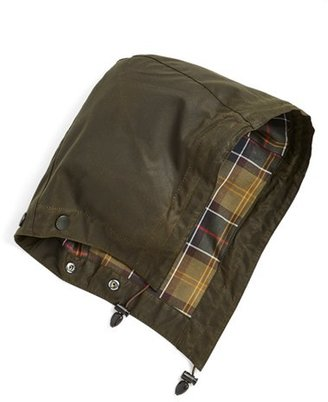 Women's Barbour 'Beadnell' Hood - Green $49 thestylecure.com