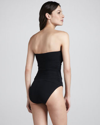 Spanx Sultry Sweetheart Bandeau One-Piece, Black