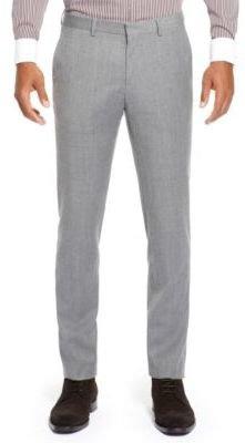 HUGO BOSS Genesis Slim Fit, Virgin Wool Dress Pants