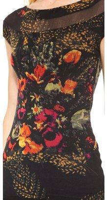 Jean Paul Gaultier Short Sleeve Printed Top