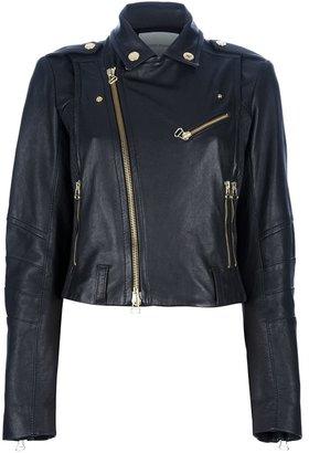 Balmain Pierre leather biker jacket