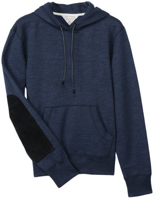 Rag and Bone Suede Patch Hoody