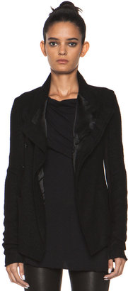 Rick Owens Eileen Quilted Jacket in Black