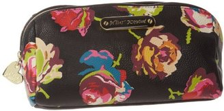 Betsey Johnson Floral Cosmetic Case