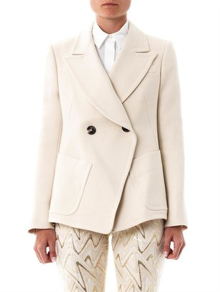 Chloé Wide lapel double-breasted blazer