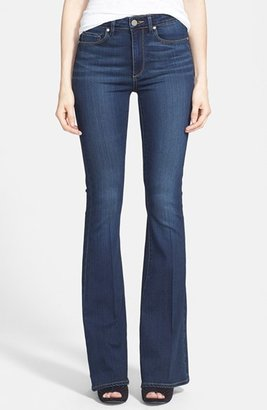 PAIGE 'Transcend - Bell Canyon' High Rise Flare Jeans (Nottingham) $179 thestylecure.com