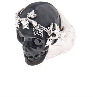 Alexander McQueen Ivy skull ring