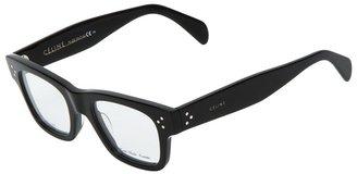 Celine square frame glasses