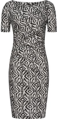 Reiss Janella BONDED LACE DRESS