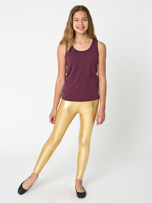 American Apparel Youth Shiny Legging