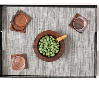 Chilewich Bamboo Placemat Chalk 2Pc