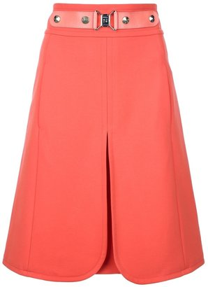 Sonia Rykiel Sonia By contrast buckle skirt
