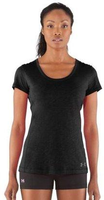 Under Armour Women's Charged Cotton Sassy Slub T-shirt