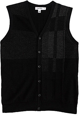 Calvin Klein Modern-Fit Sweater Vest