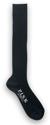 Thomas Pink Long Cotton Socks